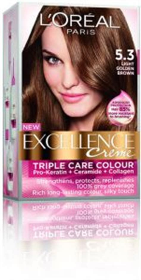 l oreal excellence creme no 5 3 golden brown skroutz gr l oreal excellence 5 3 light golden brown price review and buy in amman