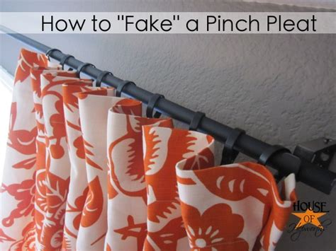 how to make pinch pleat drapes how to make a cheap awesome professional curtain rod