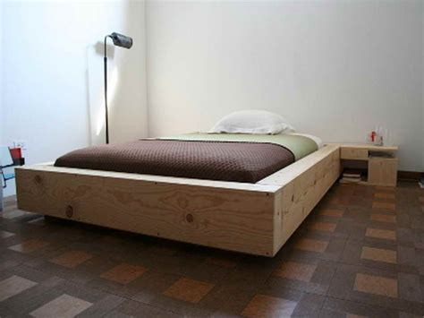 Platform Bed Frame Diy Bedroom Diy Platform Bed Plans Bed Platform Create A Bed Simple Bed Frame Or Bedrooms