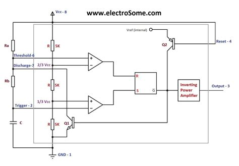 555 timer astable circuit diagram intergeorgia info