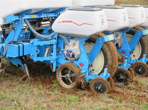 Monosem Planter by The Electrically Driven Monosem Planter In Sa Monotec