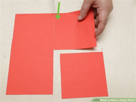 How To Make A Paper Robot Step By Step - how to make a paper robot with pictures wikihow