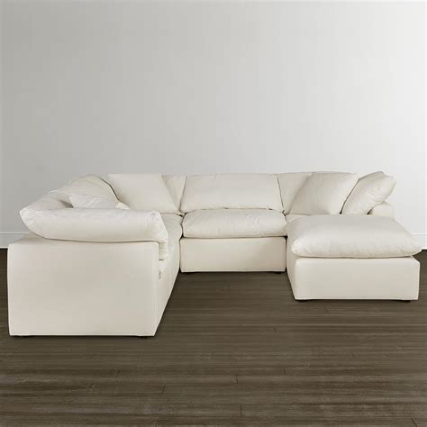 envelop small u shaped sectional bassett home furnishings
