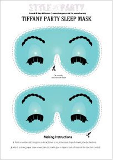 mask layout interview questions 2221 best images about breakfast at tiffany s party on