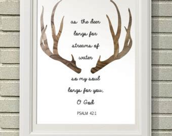 deer bible quotes quotesgram