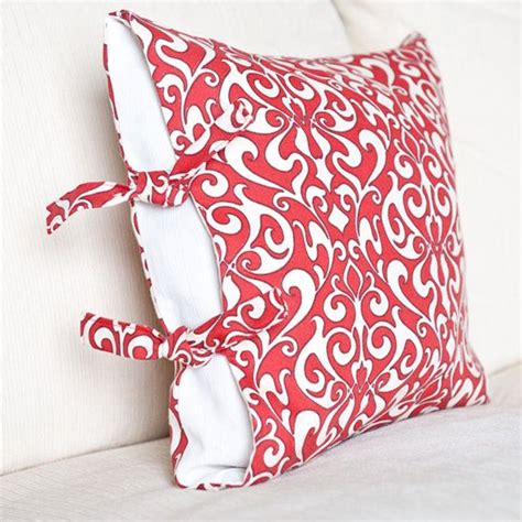 side tie pillow pdf sewing pattern instant