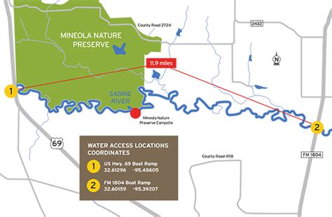 mineola texas map tpwd mineola bigfoot paddling trail texas paddling trails