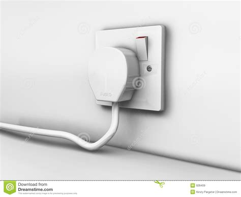 Plug In Socket Stock Illustration Image Of Electric