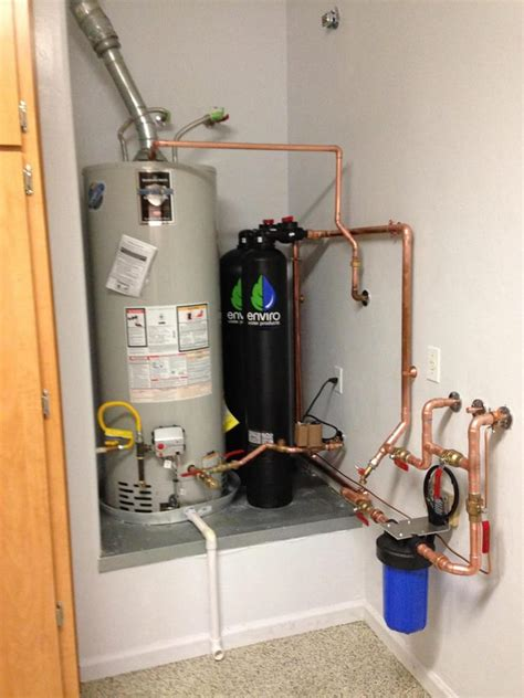 L Woods Plumbing by Newly Plumbed Water Heater And Enviro Water Filtration