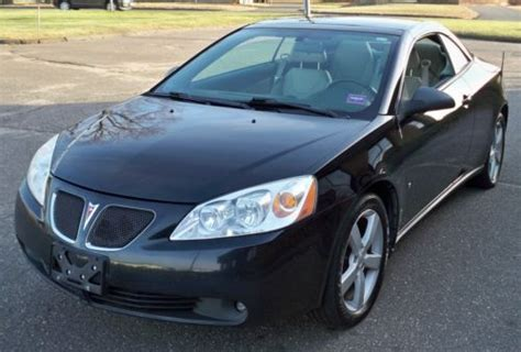 Pontiac G6 Sport by Purchase Used 2007 Pontiac G6 Gt Convertible Sport Package