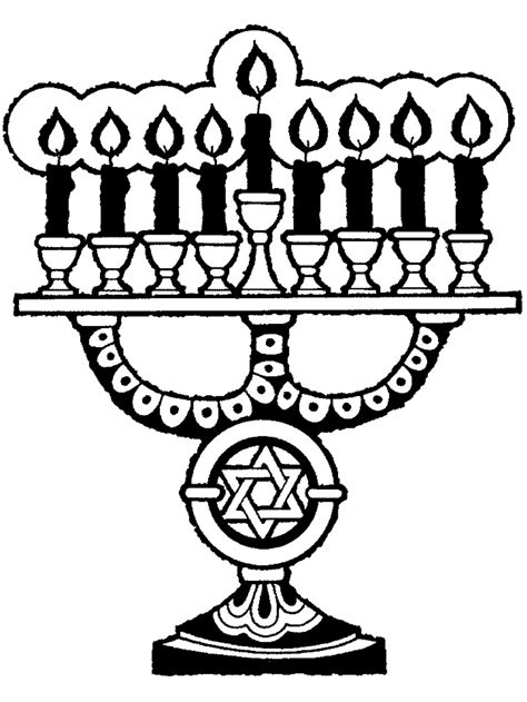 coloring page of menorah hanukkah coloring pages coloring pages to print