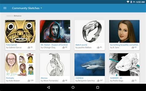 sketchbook ink apk adobe photoshop sketch android apps on play