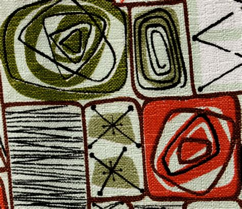 barkcloth upholstery fabric 3 9 yards of vintage barkcloth atomic design