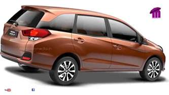 honda new 7 seater car all new honda mobilio the stylish 7 seater in indian