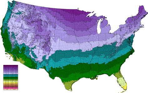 temperature map for usa image result for usa average low annual temperature map