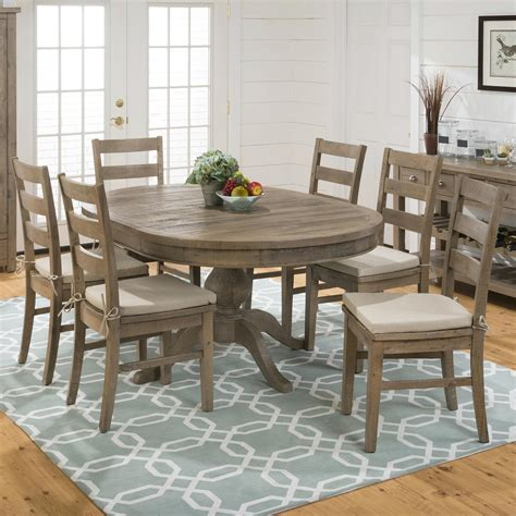 pine dining room set jofran slater mill pine 7 piece dining set with table 6