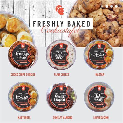 contoh design label kue galeri desain label untuk toples kue kering