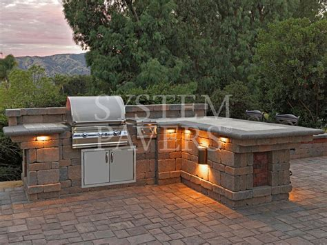 Outdoor Bbq Island Lighting Bbq Island With Lighting Outdoor Kitchen Bbq Island Lights And Backyard