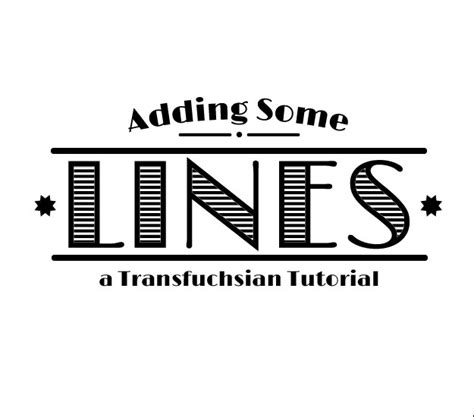 pattern font illustrator add lines inside text with illustrator by transfuchsian on