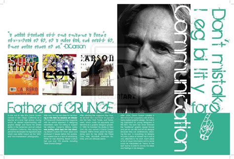 layout magazine creative fliss93 expressing creative thought processes page 4
