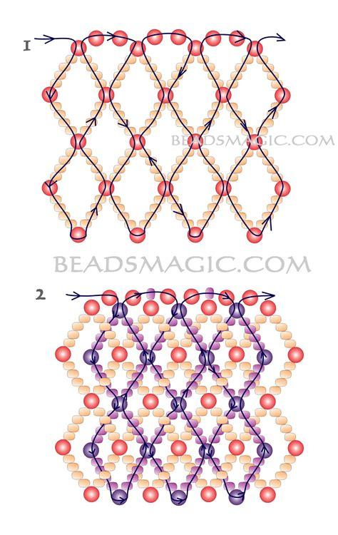 pattern magic tutorial free pattern for necklace morning beads magic bloglovin