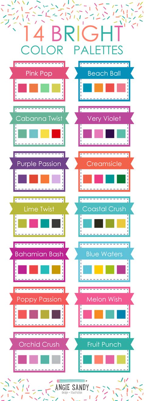 bright color combinations bright colors on pinterest color balance funky painted