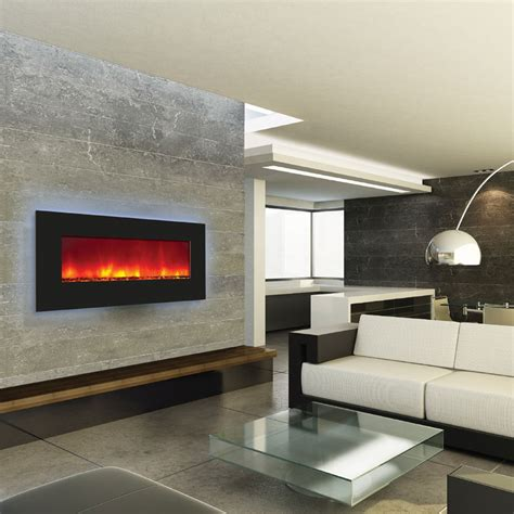 amantii backlit wall mount or built in electric fireplace