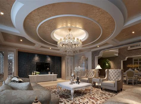 circular room arches and circular sofa 3d house