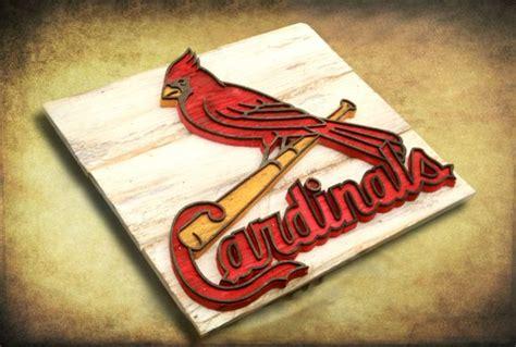 st louis cardinals home decor saint louis cardinals handmade distressed wood sign