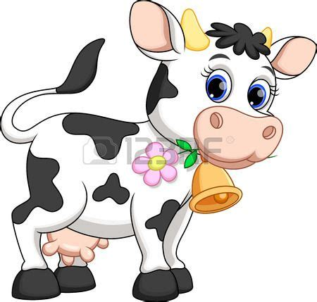 imagenes animadas vaca cute cow cartoon stock vector animals clipart