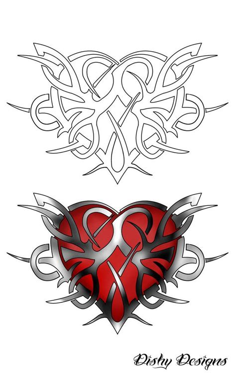 tribal heart tattoo designs best 25 tribal tattoos ideas on tribal