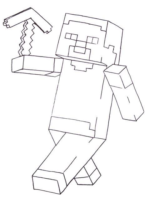 minecraft skin color free printable coloring pages for boys including