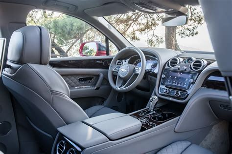 luxury bentley interior new bentley bentayga luxury suv review pictures auto