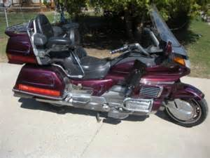1990 Honda Goldwing 1990 Honda Gold Wing Gl1500 For Sale Wanted