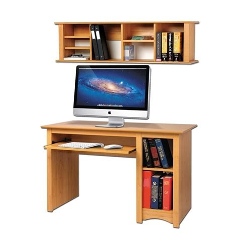 Small Maple Desk by Small Wood Computer Desk In Maple Mdd 2948