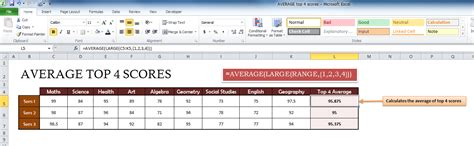 great excel templates average top 4 template my excel templates
