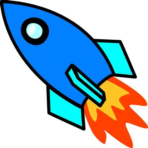 rocket ship clipart spaceship clipart rocket ship pencil and in color