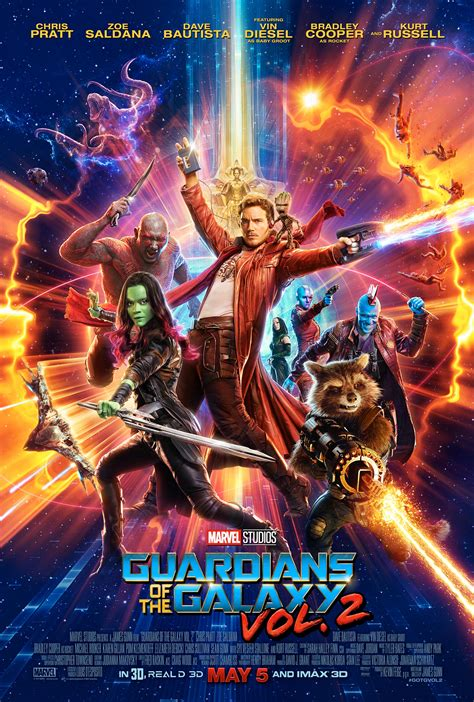 film marvel galaxy guardians of the galaxy vol 2 2017 poster 1 trailer