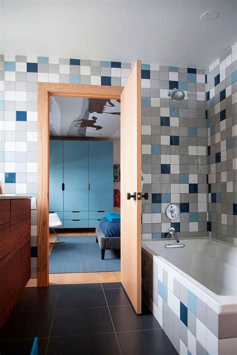 Bright Bathroom Colorful Schemes