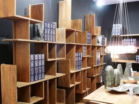 libreria legno naturale libreria porta cd etnica legno naturale etnicoutlet mobili