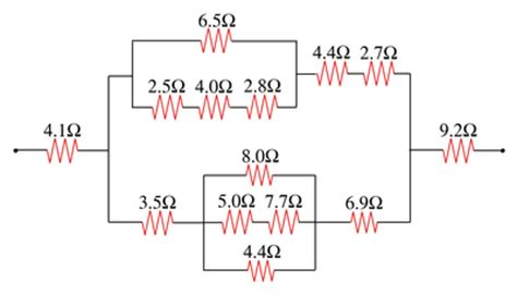 resistor series parallel problems inheritance