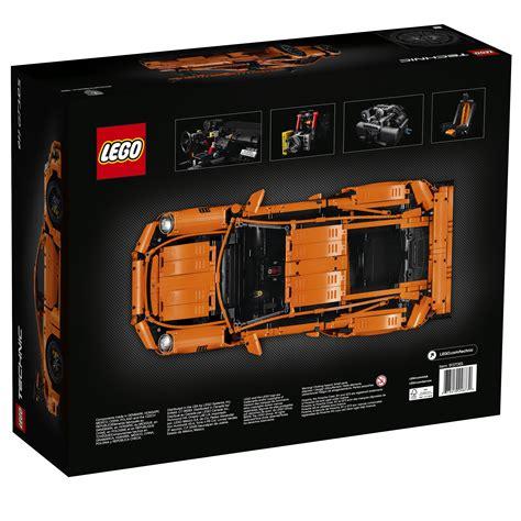 lego porsche box lego unveils the stunning 42056 technic porsche 911 gt3 rs