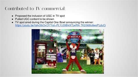 capital one mascot challenge