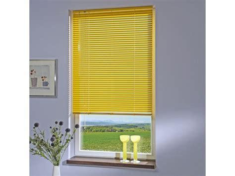 jalousie gelb liedeco jalousie aus aluminium sonnen gelb jalousie f 252 r