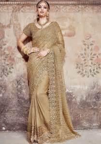 gold sarees online shopping singapore gold designer wedding saree