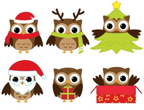 christmas owl pictures owl clip clip punch and owl punch