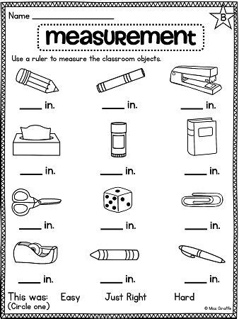 1000 ideas about measurement activities on pinterest