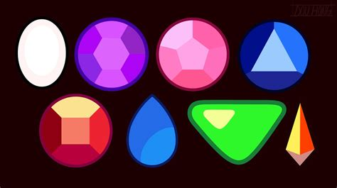 The Gem Of by Dou Hong Steven Universe Reference Gemstones