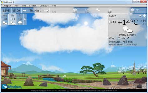 Desk Top Weather by Desktop Weather Windows 7 Screenshot Windows 7