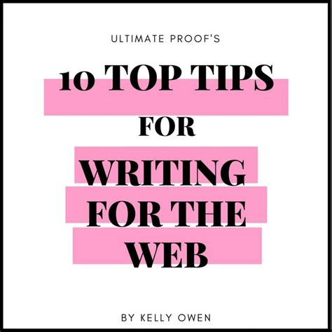 10 Tips For Writing The by Copywriting Editing And Proofreading